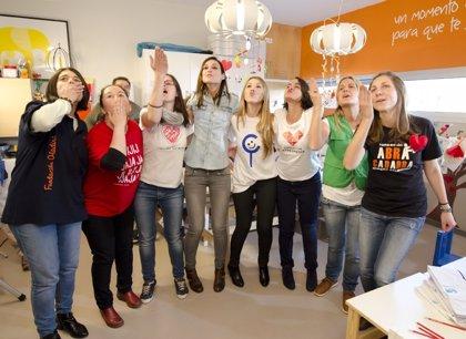 Un lanzamiento de besos para crear el Día Nacional del Niño Hospitalizado