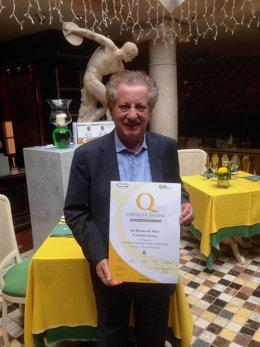 Bruno Filippone, propietario del Grupo de Restauración Da Bruno