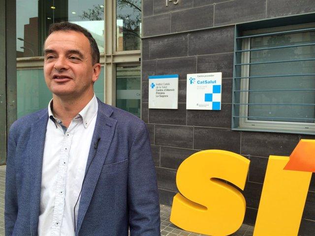 El candidato de ERC a la Alcaldía de Barcelona, Alfred Bosch