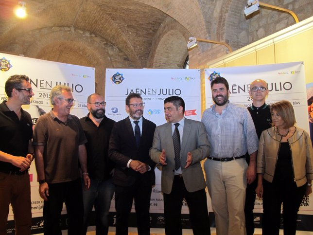 Presentación de 'Jaén en julio'