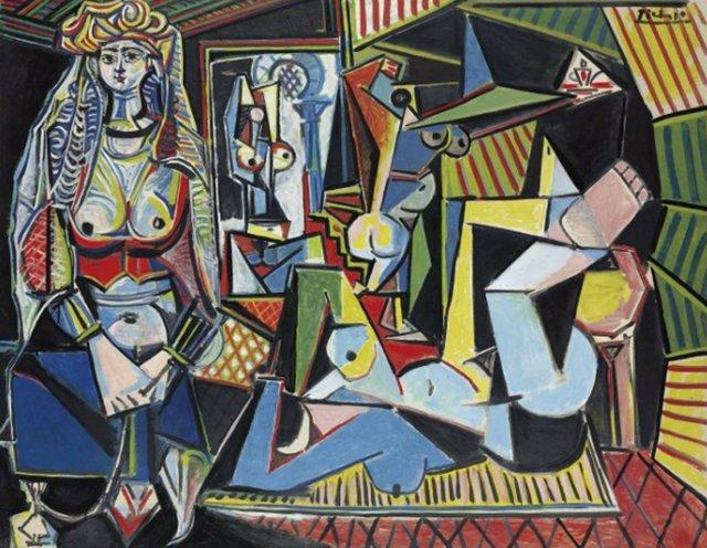 Pablo Picasso 'Les Femmes D'alger