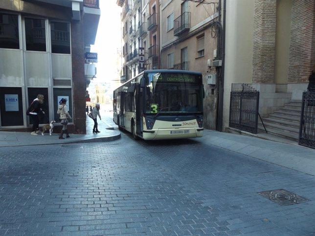 Autobús urbano de Teruel.