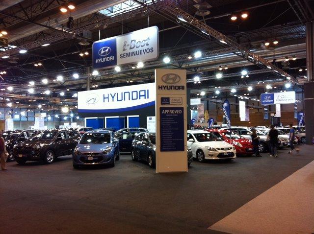 Hyundai En El Salón Del Vehículo De Ocasión