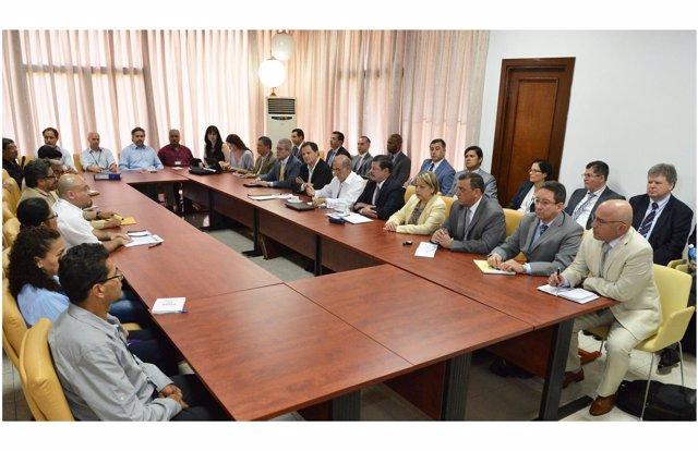 Reunión de negociadores de paz Colombia en La Habana