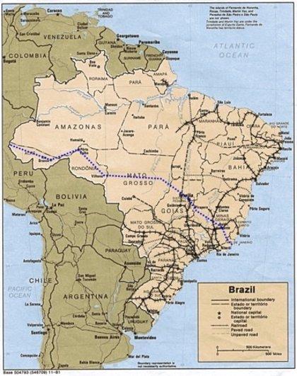 Brasil quiere unir por tren el Atlántico y el Pacífico
