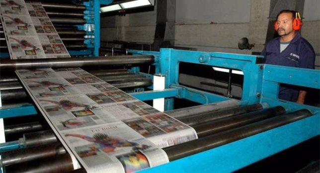 Cadivi, papel de periódico en Venezuela