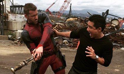 Deadpool: Más fotos desde el rodaje con Mario López y ¿Colossus?