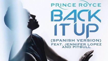Prince Royce, Jennifer Lopez y Pitbull hacen una versión español de Back it up