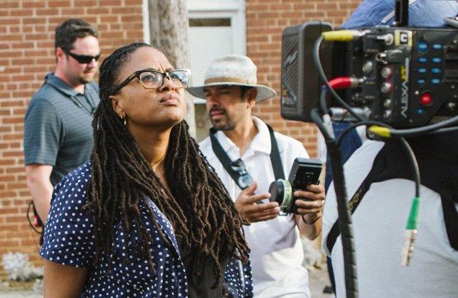 Ava DuVernay en el rodaje de Selma