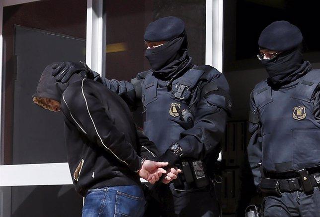 Operación contra yihadistas, el yihadismo, en Cataluña