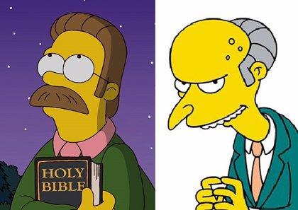 Los Simpson pierden a la voz del Sr. Burns y Ned Flanders