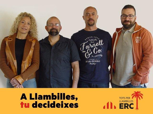Miembros de ERC de Llambilles