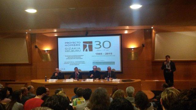 Jornada del 30 aniversario de Proyecto Hombre Gipuzkoa.