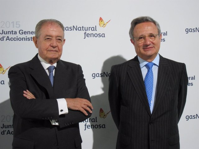 Salvador Gabarró y Rafael Villaseca (Gas Natural Fenosa)
