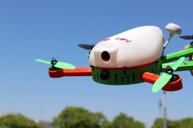 Drones con impresión 3D para la alta competición