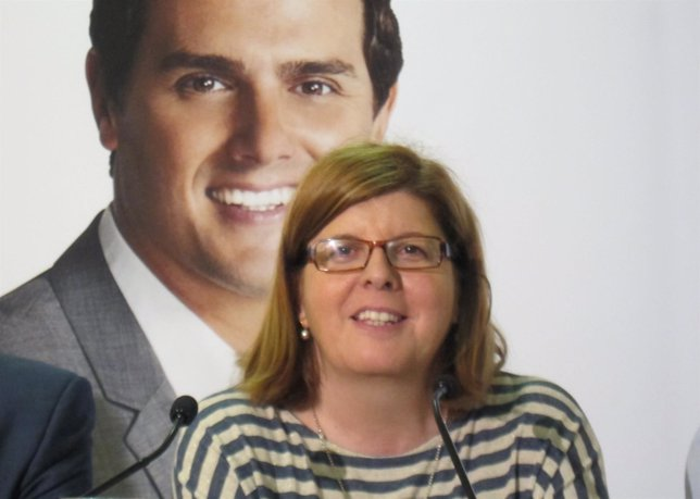 Víctoria Domínguez, candidata de Ciudadanos en Extremadura