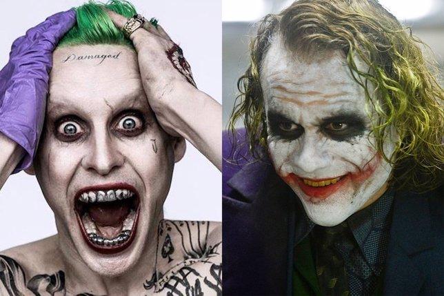 Jared Leto y Heath Ledeger como Joker
