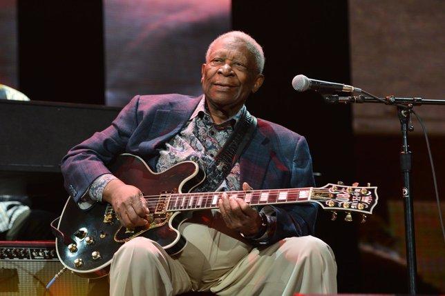 El genio del blues B.B. King, hospitalizado en Las Vegas