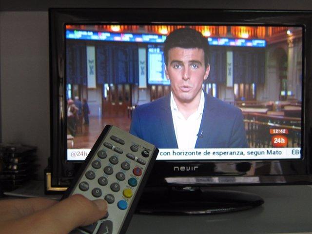 Televisión, televisor, tdt, mando,