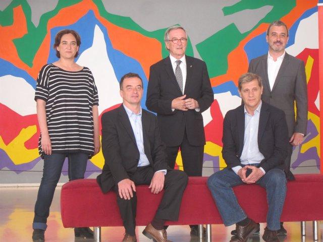 Candidatos a la Alcaldía de Barcelona en elecciones municipales 2014
