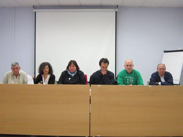 Rueda de prensa de FAPA y los sindicatos