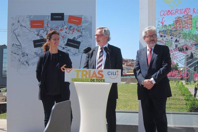 El alcalde de Barcelona y candidato de CiU a la reelección, Xavier Trias