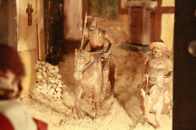 Quijote y Sancho, Figuras