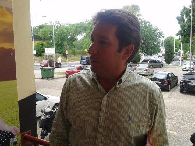 El candidato de Ciudadanos en Huelva, Ruperto Gallardo.
