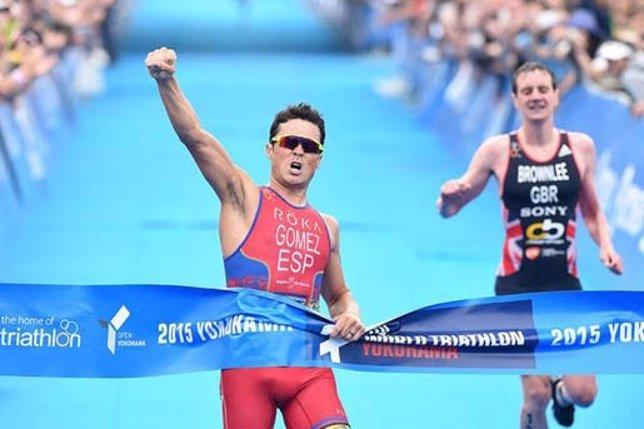 Javier Gómez Noya Alistair Brownlee Series Mundiales Yokohama triatlón