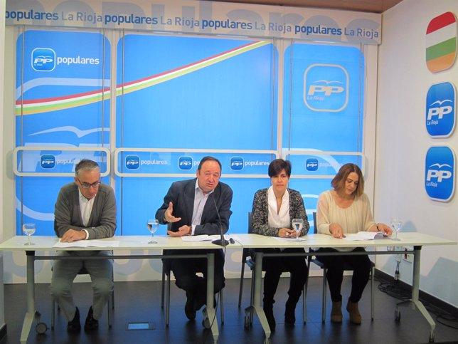 Sanz informa de sus propuestas sobre Empleo