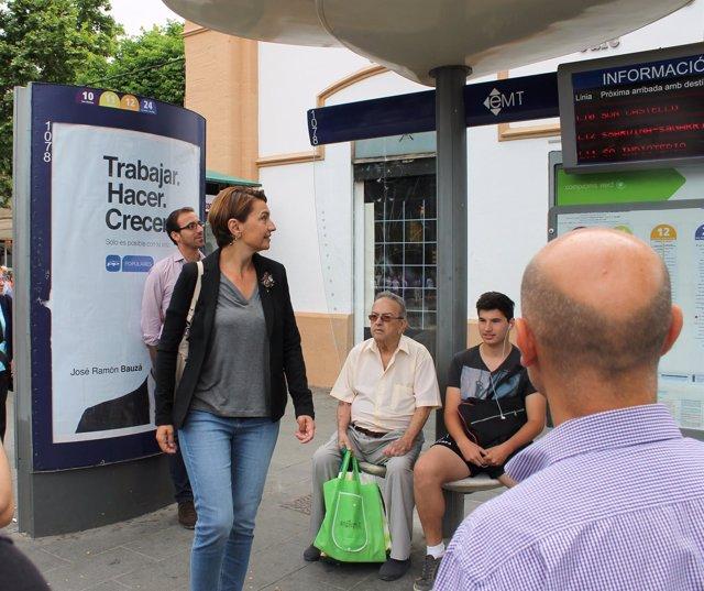 Marga Durán presenta propuestas de Turismo