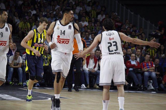 Gustavo Ayón Sergio Llull semifinales Final Four Euroliga Real Madrid Fenerbahçe