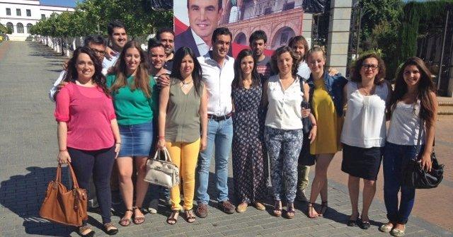 Acto del PSOE de Huelva