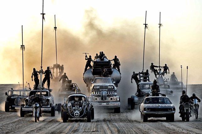 Los coches de Mad Max Fury Road