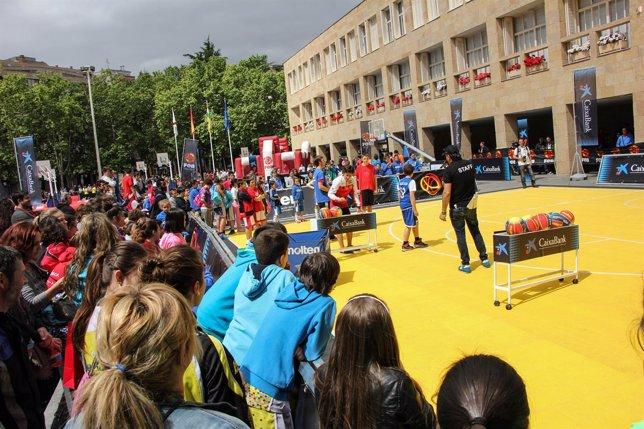 Plaza 3x3 en Logroño