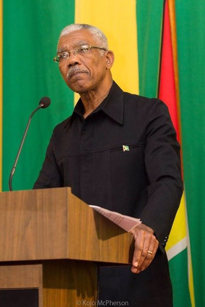 David Granger jura su cargo como nuevo presidente de Guyana