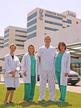Responsables del diagnóstico preimplantacional en La Fe