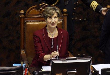 Isabel Allende asume la presidencia del Partido Socialista y da su apoyo a Bachelet