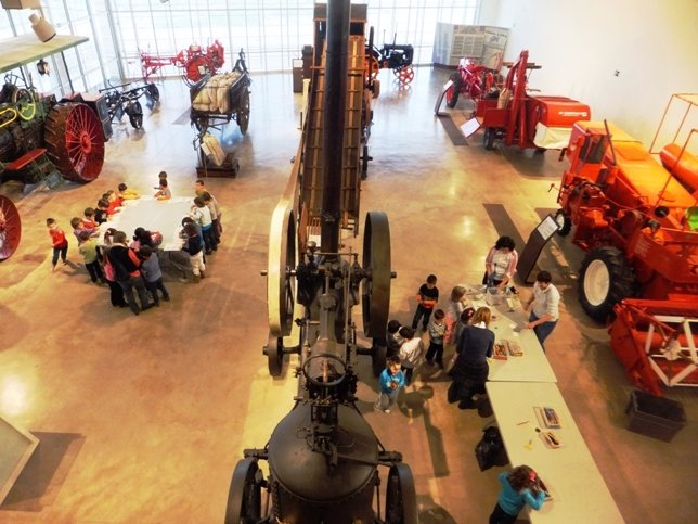 Celebración del Día Internacional de los Museos en 2013 en Aquagraria