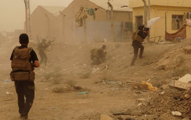 Ramadi bajo asedio de Estado Islámico