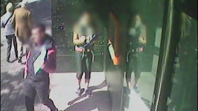 Presuntos autores de un robo por 'scalping'