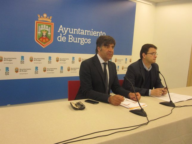 Fernando Gómez, a la izquierda.