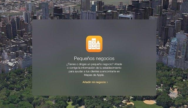 Maps Connect para Pequeños Negocios