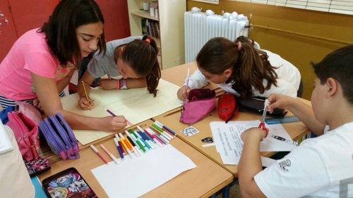Taller de aula  'Pido pacto para los derechos de la Infancia'