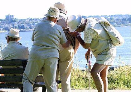 Las caídas son la principal causa de lesión entre los mayores de 65 años