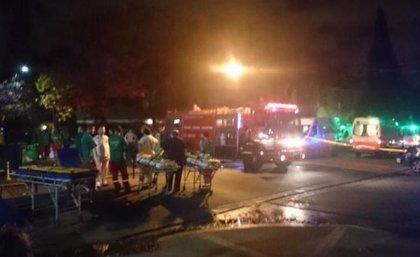 Cuatro muertos y varios heridos en el incendio de un geriátrico en Buenos Aires