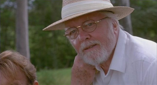 Sir Richard Attenborough como John Hammond en Jurassic Park
