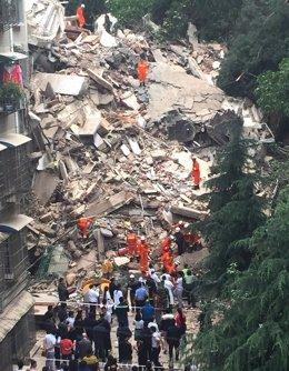 Deslizamientos de tierra en China