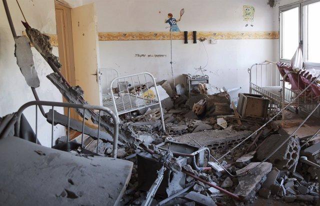 Un hospital infantil atacado en Benghazi