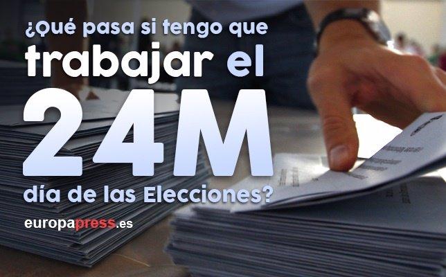 Elecciones 24M trabajar